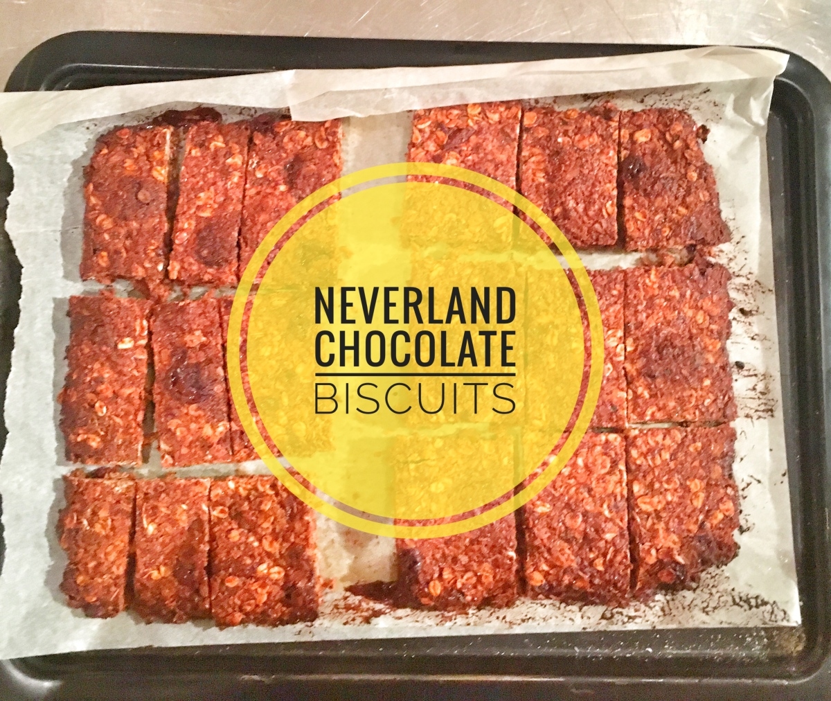 Neverland Chocolate Biscuits
